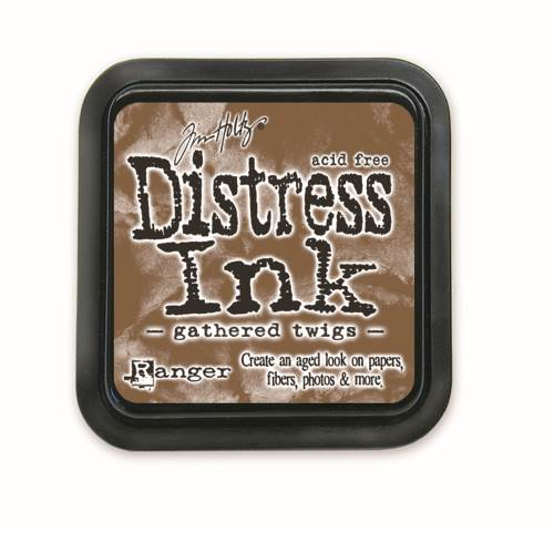 Gathered Twigs  3x3 Distress Ink Pad