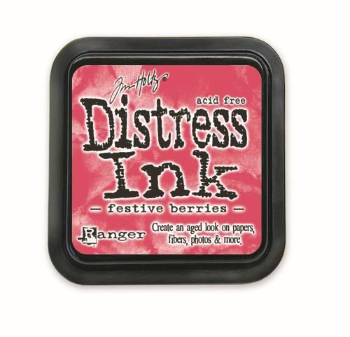 Festive Berries 3x3 Distress Ink Pad