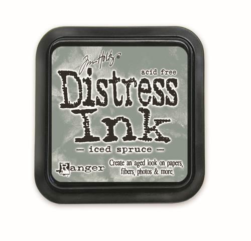 Iced Spruce 3x3 Distress Ink Pad