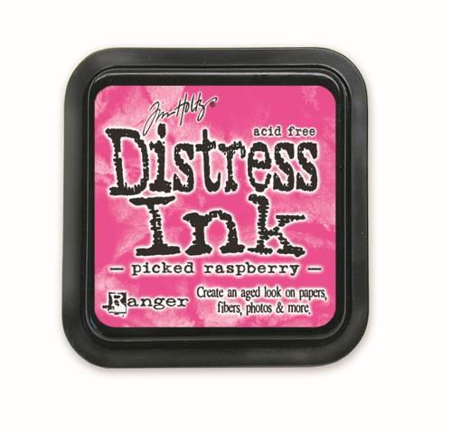 Picked Raspberry 3x3 Distress Ink Pad