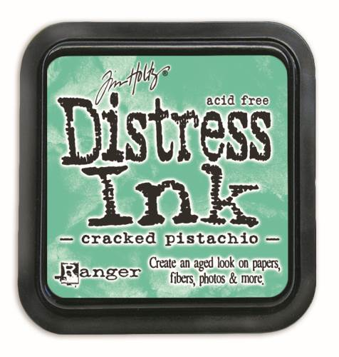 Cracked Pistachio 3x3 Distress Ink Pad