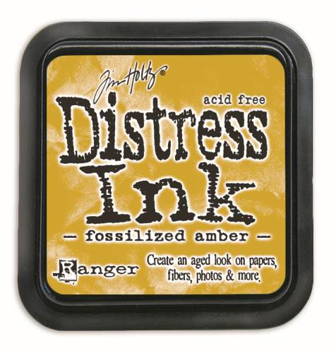 Fossilized Amber Distress Ink Pad