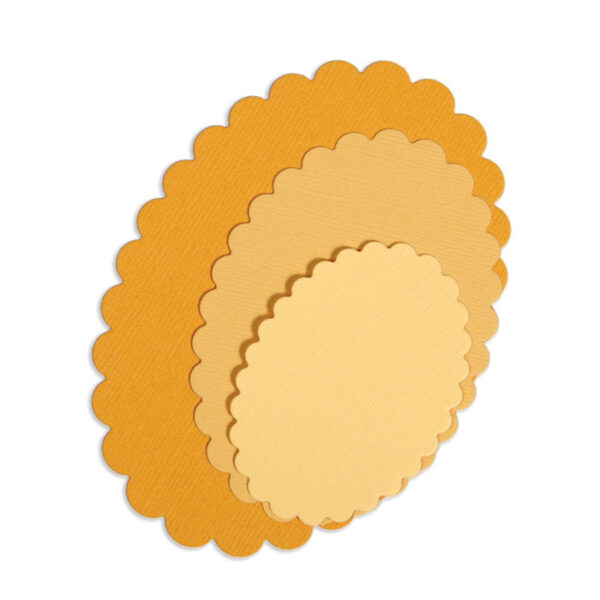 Framelits - Ovals, Scallop