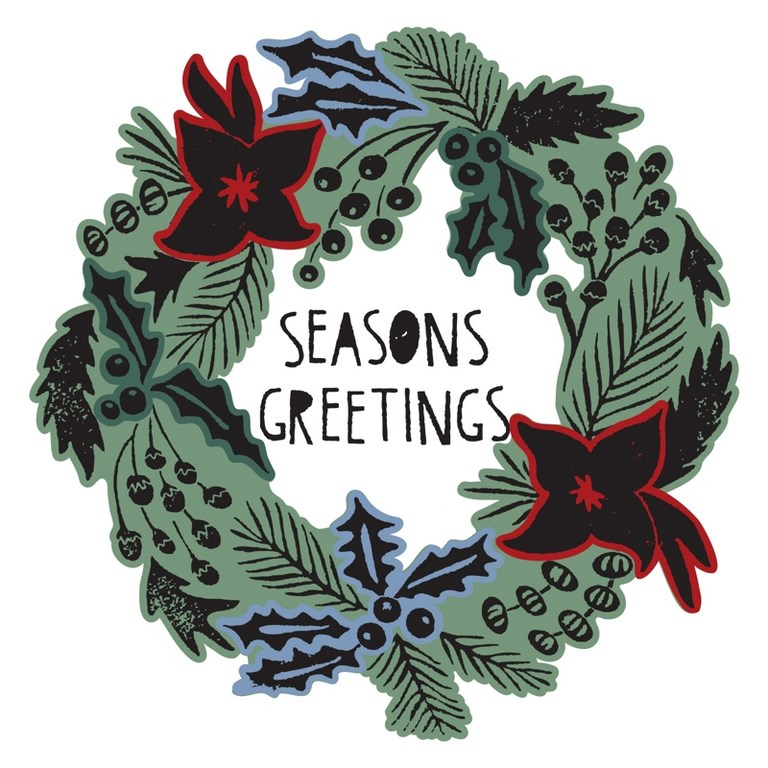 Framelits - Seasons Greetings