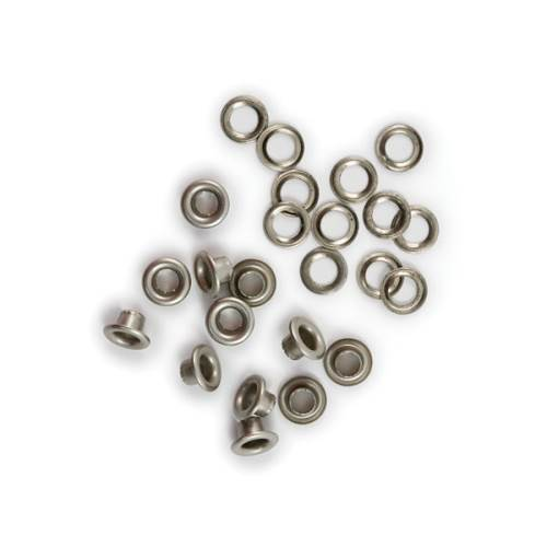 Standard Nickel Eyelets & Washer 60pc
