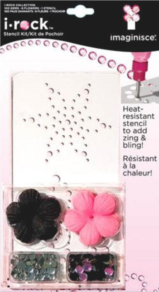 iRock Flower Stencil Kit
